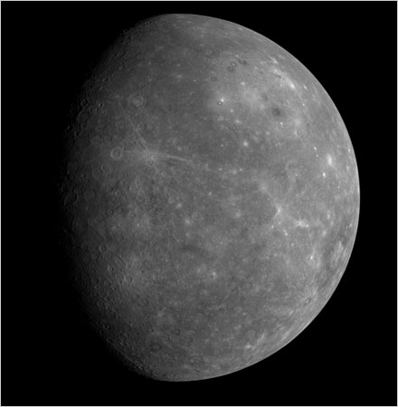 Mercury detailed image
