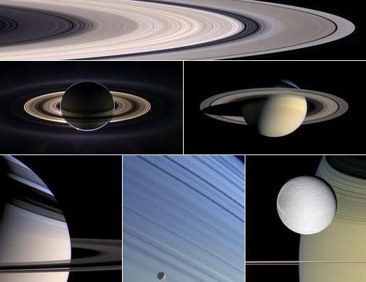 Cassini images in National Geographic